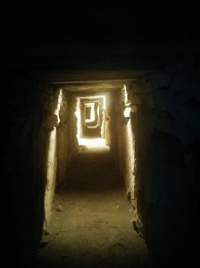 Knowth Interior, smaller than it looks - approx 5ft high