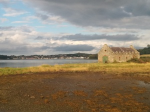 Strangford Lough and Castle Ward boat shed